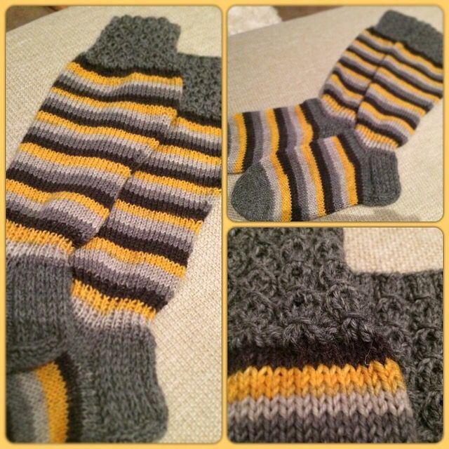 Diy. My woolsocks, knitting, hobby, villasukat, raitasukat