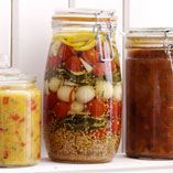 Syltede grøntsager - Opskrifter