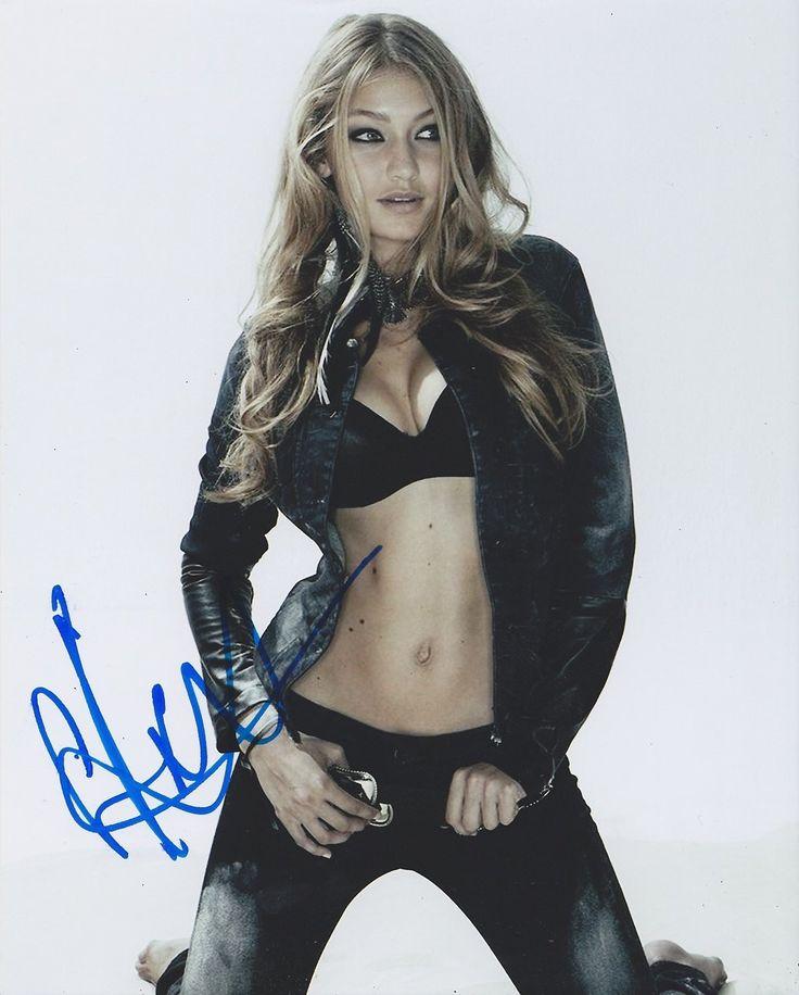 Gigi Hadid Autographed Signed 8X10 Photo COA 'Sports Illustrated Model'