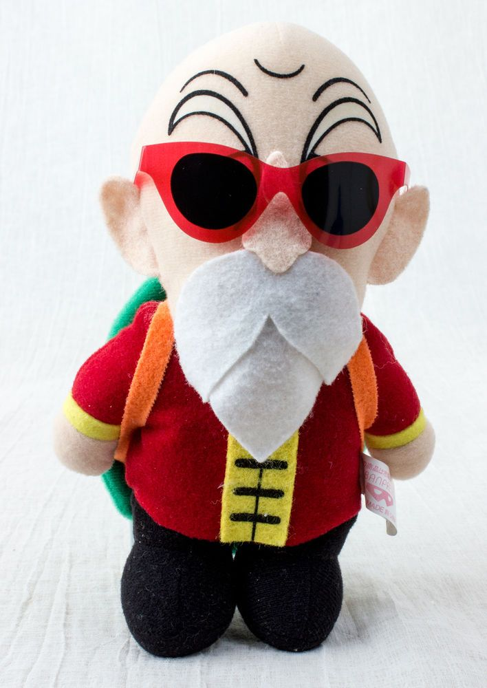 Dragon Ball Z Kame-Sennin Roshi Plush Doll Figure Banpresto JAPAN ANIME MANGA