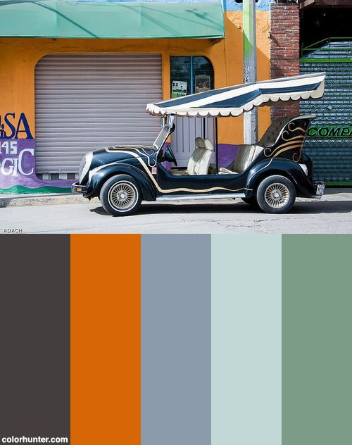 Oaxaca - Mexico Color Scheme