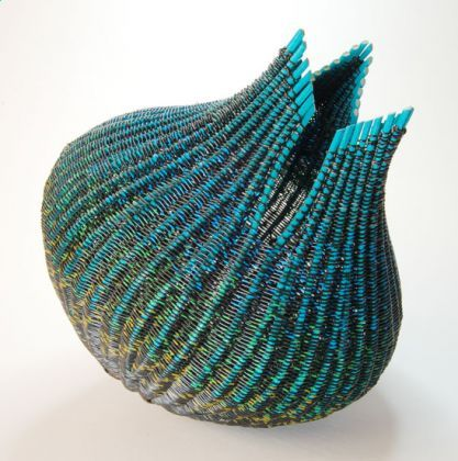 Peacock Pod by Mary Crabb