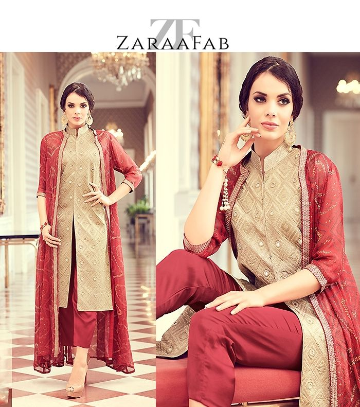 Buy ready made salwar kameez, straight cut salwar suits online with latest designs Online from ZaraaFab. We Offers designer partywear salwar Suits for at best price with free delivery in the UK. #salwarsuit #salwarkameezsuit #salwarkameezonline #salwartops #stylishsalwarsuits #indianwear