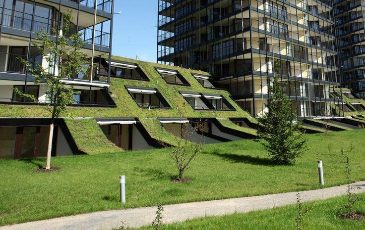 Дома с террасами | Наше предложение | Central park Praha