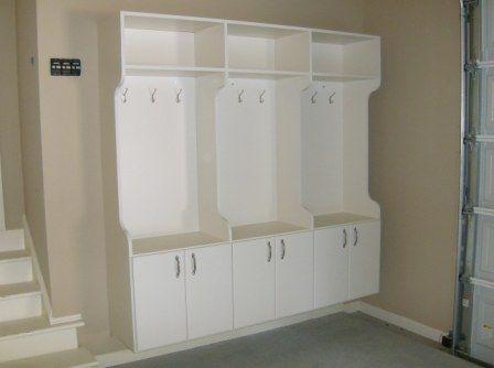 Garage Mud RoomDecor Ideas, Coats Closets, Mudroom Cabinets, Mud Rooms, Atlanta Closets, Closets Storage Solutions, Storage Garages Mudroom, Closet Storage, Laundry Room