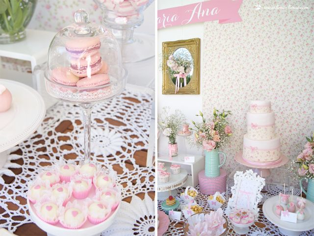 details for this little flowers themed party