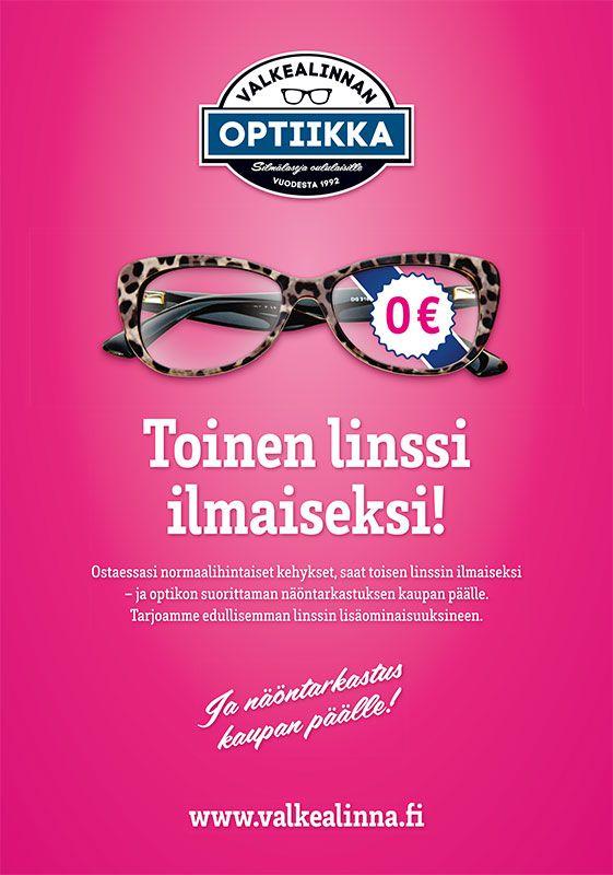 Campaign design for Valkealinnan Optiikka