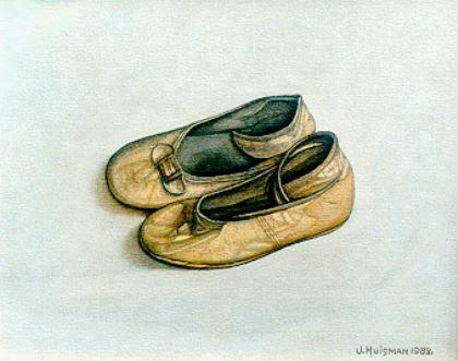 Jotje 'Jopie' Huisman (Holle Mar Workum 1922-2000 Groningen) Kinderschoentjes - Kunsthandel Simonis en Buunk, Ede (Nederland).