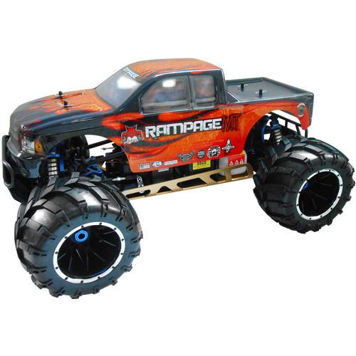 Redcat Racing Rampage MT V3 1/5 Gas RC Monster Truck Newest Version 32CC engine!