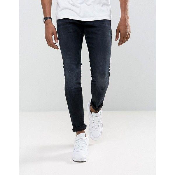 G Star Revend Super Slim Jeans Rink Denim Dk Aged 220 Brl Liked On Polyvore Featuring Men S Fashion Men S Clothing Men S Jeans Navy Mens Slim Jeans G S