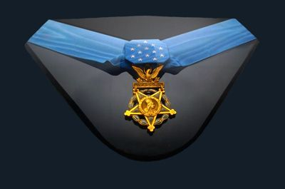 Medal of Honor-only 3,400 have been awarded since this medal was created in 1861.