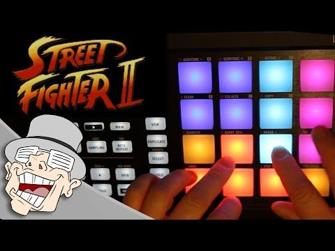 ▶ Street Fighter 2 (Guile's Theme) | LilDeuceDeuce | Maschine Plays - YouTube