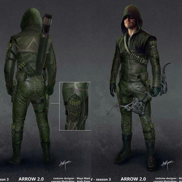 Arrow costume 2.0