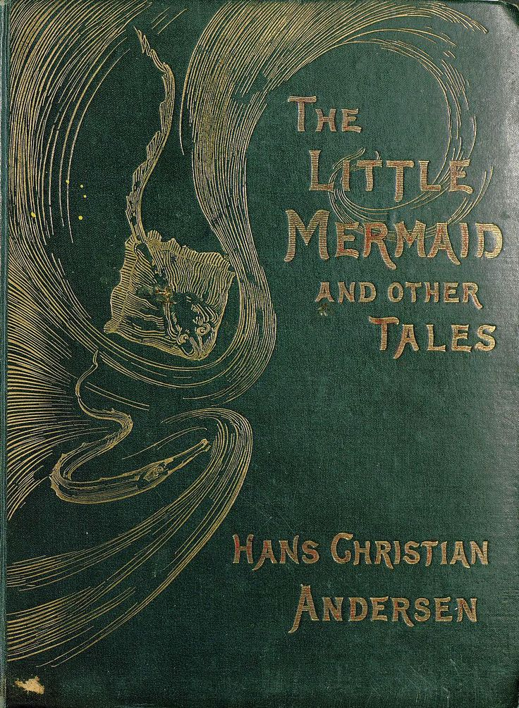 The little mermaid original book cover