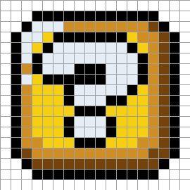 クロスステッチパターン(はてなブロック)