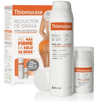La crema reductora de grasa #Thiomucase ayuda a combatir la #celulitis generalizada.Su innovadora fórmula permite su aplicación tanto en el embarazo como en el periodo de lactancia ya que no contiene cafeína.