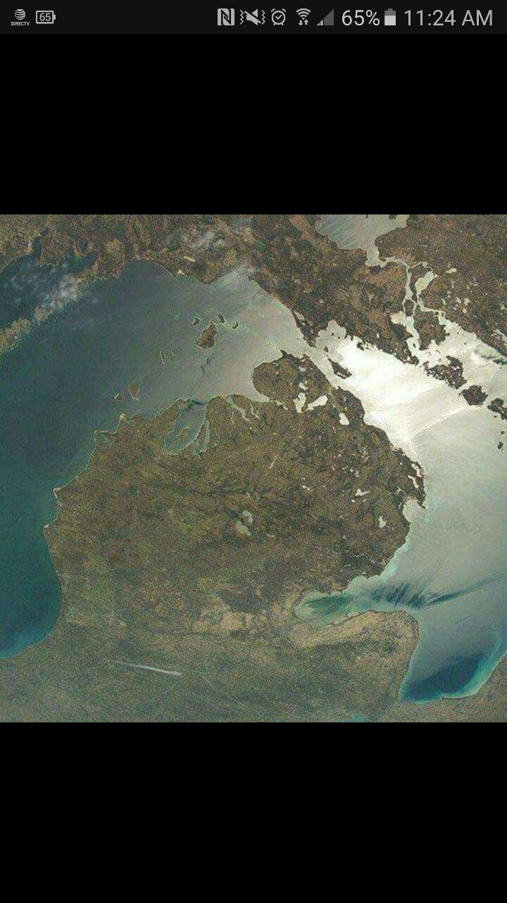 Michigan from the sky