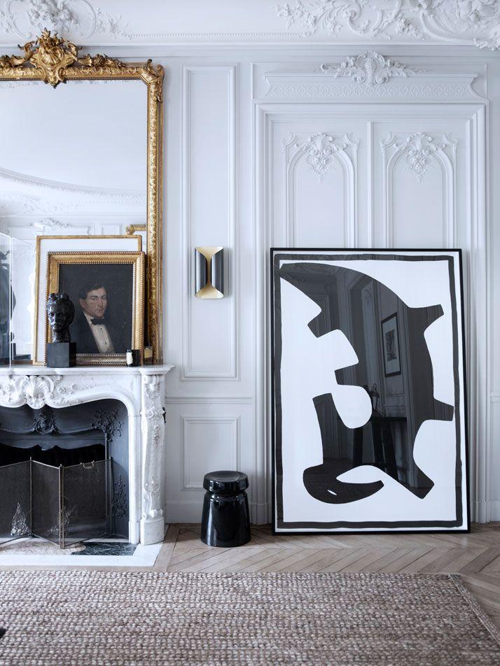 The House Of Patrick Gilles & Dorothée Boissier In Paris   http://www.yatzer.com/Gilles-et-Boissier-house-Paris