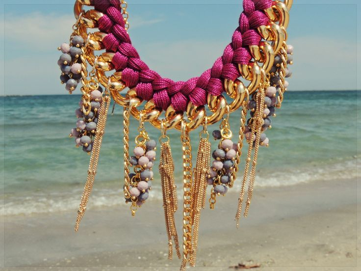 - perfect beach necklace -