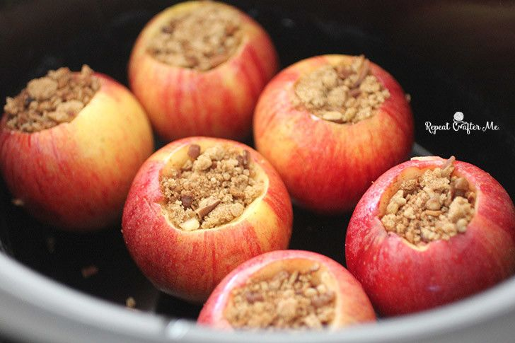 Crock Pot Cinnamon Stuffed Apples