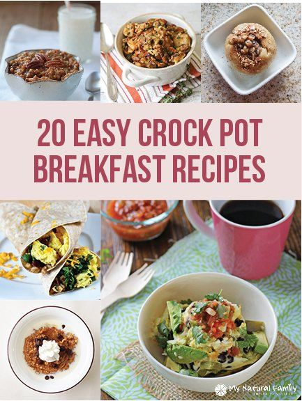 20 Easy Crock Pot Breakfast Recipes – Wake Up to A Delicious Meal!