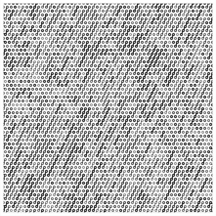 "'Signal & Noise 09-02-2017 # 2' © 2017 Titus Hora 150 x 150cm (54"" x 54"") digital print #abstract #procedural #parametric #generative"