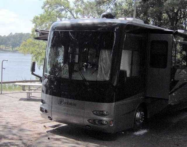 2008 Used Forest River Berkshire 360QS Class A in Florida FL.Recreational Vehicle, rv, 2008 Forest River Berkshire 360QS, 2008 Forest River Berkshire Deisel Pusher on 2007 Freightliner Chassie Asking $80,000 Cummings 5.9L (300hp) with 5 speed Allison Transmission and Exhaust Break system 4 Slide Outs Well maintained, records can be viewed at American RV in North Port Florida All 6 Michelin tires new with 10 year warranty in 2012 39in LED Flat screen HD TV new in 2014 Roof and Remote…