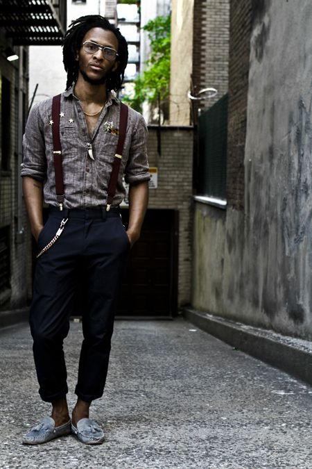 Accessories Are a Necessity: Suspenders (Braces)