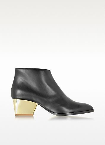 Eastwood Black Leather Ankle Boot - Zoe Lee