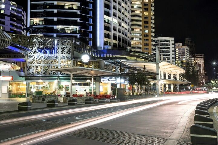 Traffic trails on Surfers Paradise esplanade #goldcoast #visitgoldcoast #thisisqueensland #visitqueensland #surfersparadise