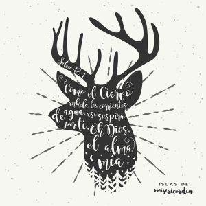 islas de misericordia -ciervo alma salmo 42 p