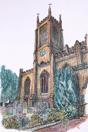 St Swithuns Church, East Grinstead, Tayder Page, SAA Professional Members' Galleries