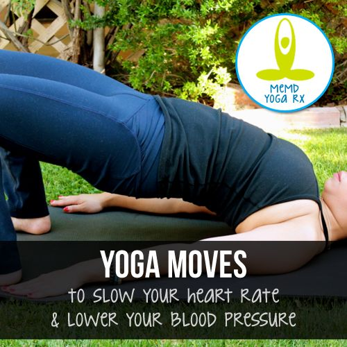Reduce high blood pressure with yoga