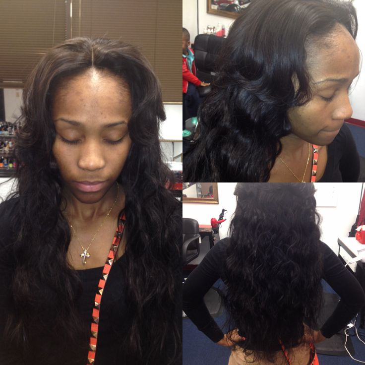 Full Sew In With 3way Part Closure Sew Ins In 2019