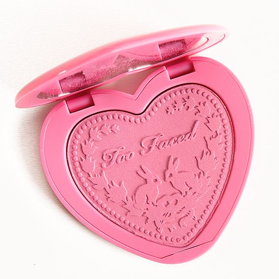 TOO FACED JUSTIFY MY LOVE LOVE FLUSH BLUSH REVIEW, PHOTOS, SWATCHES