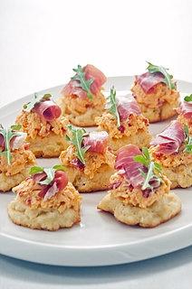 Pimento Cheese and Prosciutto Appetizer