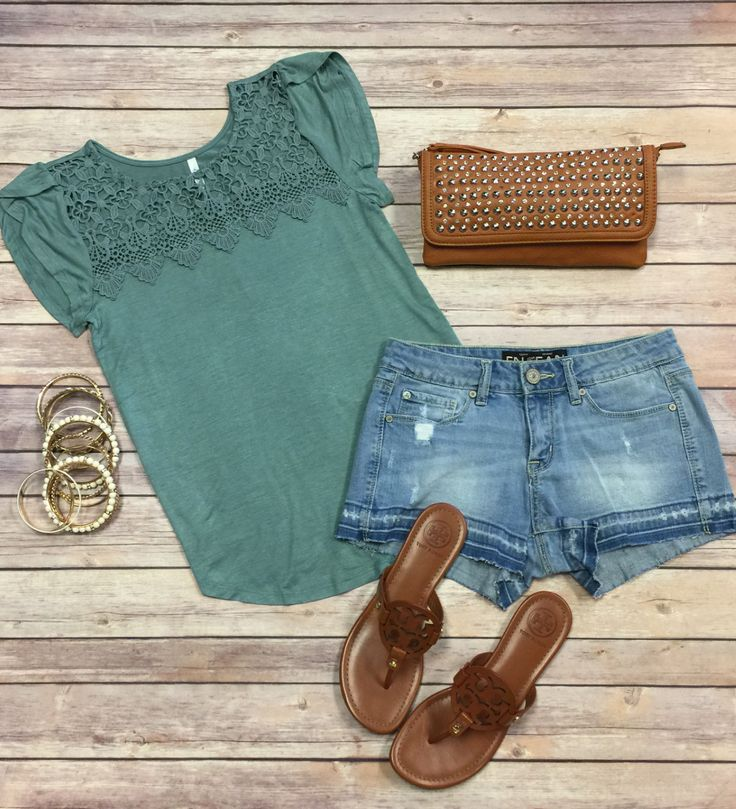 All About that Lace Top: Sage from privityboutique