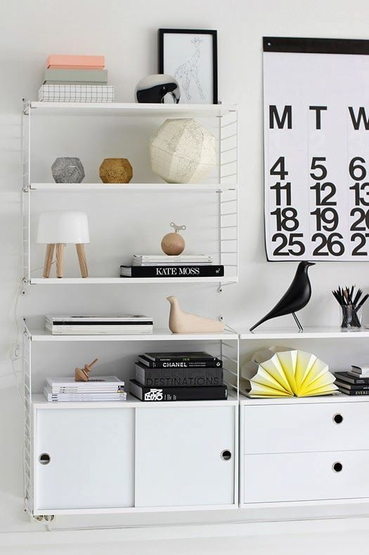 IKEA Gallo shelving | Design on a budget