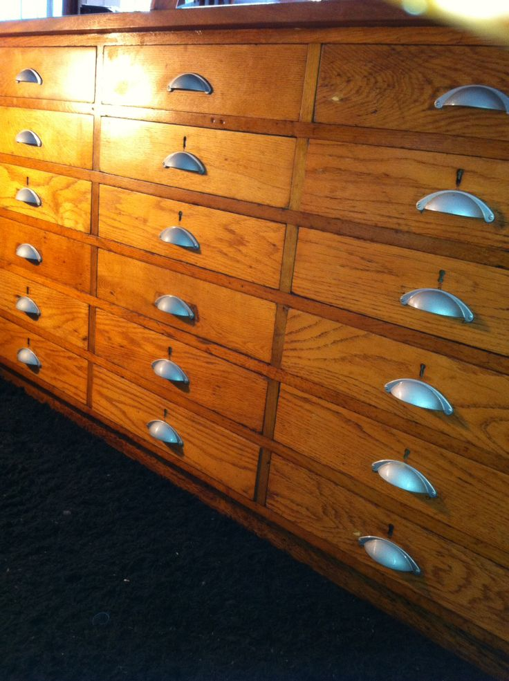 Antique bank of drawers. Many combinations in stock
