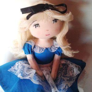Patron poupée de chiffon Miss Pénélop - Alice