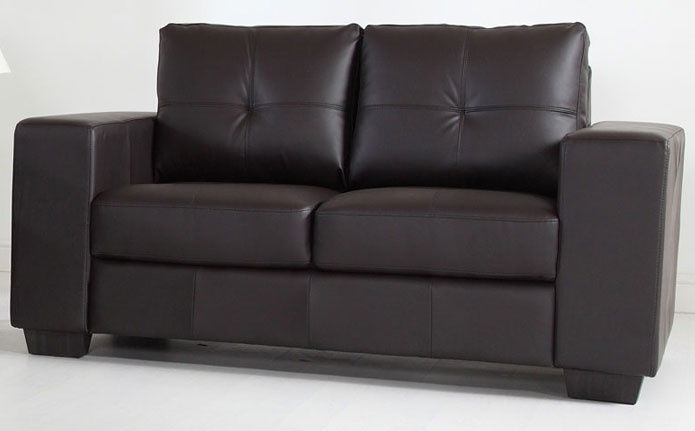 2 seater leather sofa - you can't beat leather for style!