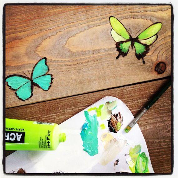 17 mejores ideas sobre mariposas para pintar en pinterest - La factoria plastica ...