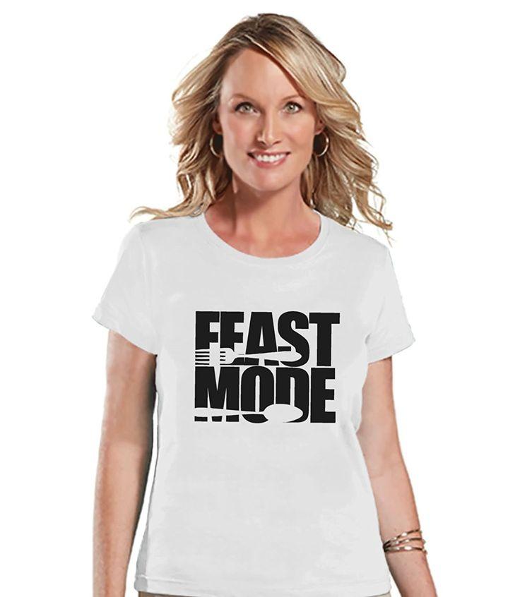 Custom Party Shop Women's Feast Mode Thanksgiving T-shirt