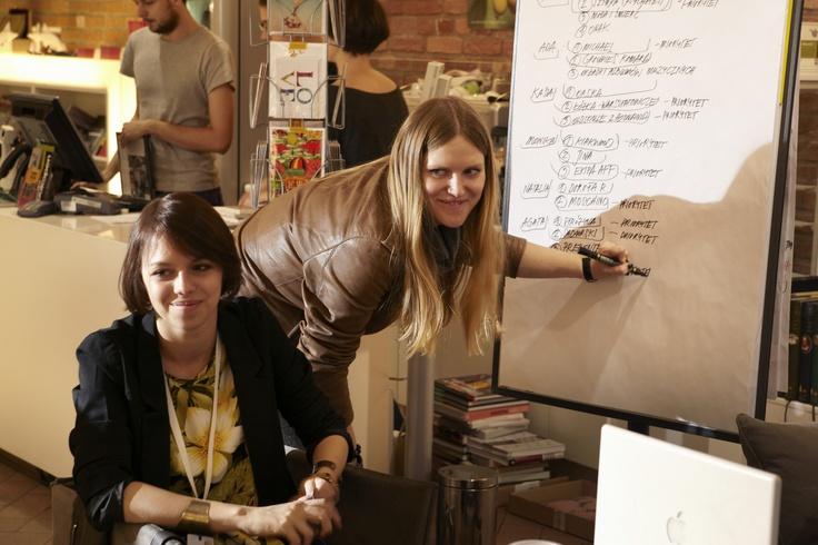 AF Workshops Fashion Writing tutors Hania Rydlewska i Marcin Rozyc #fashion #writing #workshops #rydlewska #rozyc #art #festival #starybrowar #poznan #okraj #bookarest