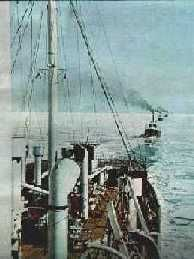Los alemanes atacan Oslo-Noruega por mar y aire.