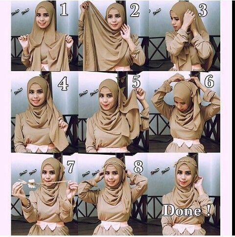 Hijab tutorial | hijab style