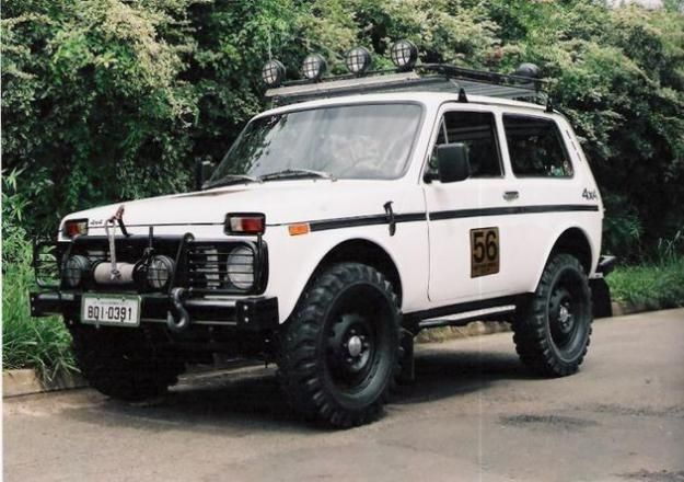 Lada Niva - my wife won't let me buy it, thinks it is too unsafe.