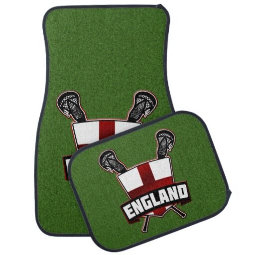 english england flag lacrosse logo car mats how about this for the ultimate gift for someone