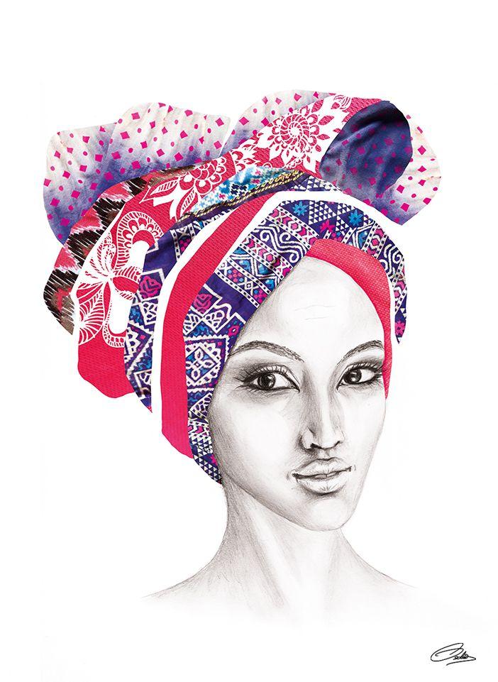 Headdress Beauty by www.liselotteosterby.com
