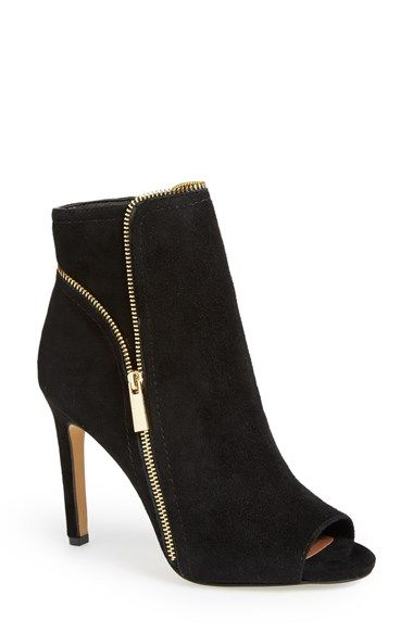 Vince Camuto 'Klayton' Peep Toe Bootie (Women) available at #Nordstrom